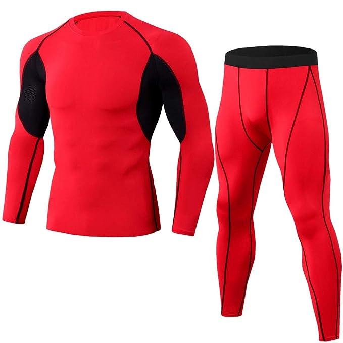 Hombre Conjunto Chándal Completo Slim fit Jogging Transpirable ...