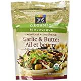 365 Everyday Value Organic Croutons, Garlic & Butter, 4.5 oz