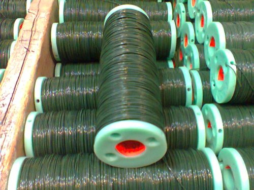Green Floral Wire 1/2lb Spool 24 Gauge.... Two 1/2lb Spool for $15.00
