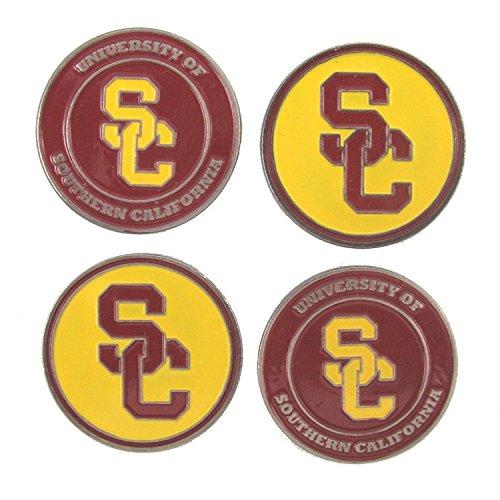 ((4) USC Trojans Golf Ball)