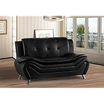 Amazon.com: Container Furniture Direct S5411-S Arul - Sofá ...