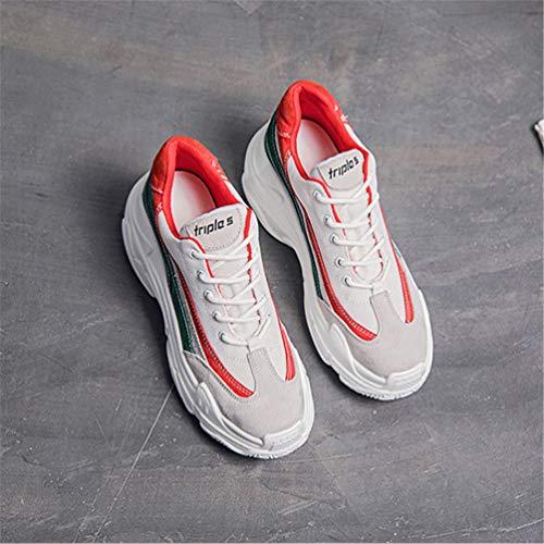 Zapatillas Sintético Exterior de Deportes Mujer de Verde LFEU de RgpwqRd