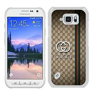 Popular Samsung Galaxy S6 Active Cover Case ,GC 15 White Samsung Galaxy S6 Active Case Hot Sale And Unique Designed Phone Case