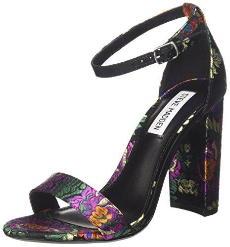 Bout Multi Black Steve Multi Black Carrson Noir Multicolore Ouvert Madden Femme Womens Escarpins US BtxxSHOq