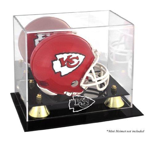 Mounted Memories Kansas City Chiefs Mini Helmet Display Case ()