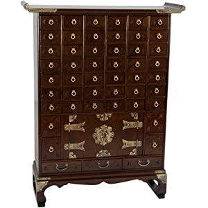 oriental furniture korean antique style 49 drawer apothecary chest antique furniture apothecary