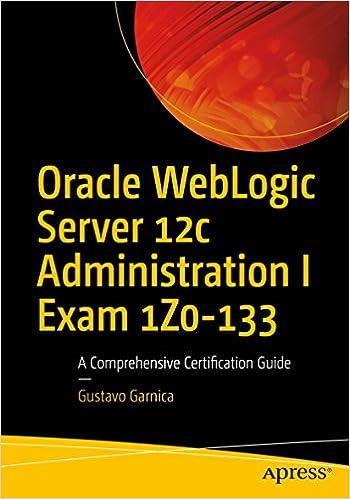 Oracle weblogic server 12c administration handbook 1, sam r.