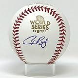 Houston Astros Alex Bregman Autographed 2017 World Series Baseball JSA Auth