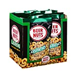 BEER NUTS Cashews | 12 Pack Box - 4 oz. Individual Bags - Sweet and Salty