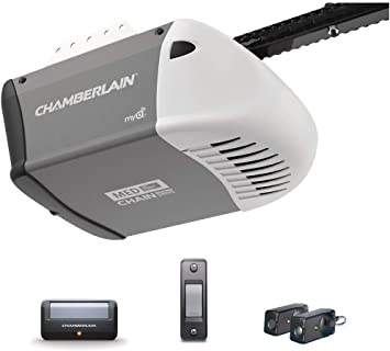Chamberlain 1 2 Hp Heavy Duty Chain Drive Garage Door Opener With Med Lifting Power Amazon Com
