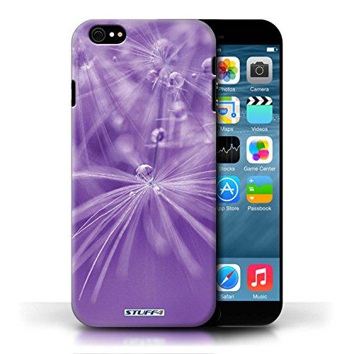 Etui / Coque pour Apple iPhone 6/6S / Fleur Violet conception / Collection de Gouttes de Fées