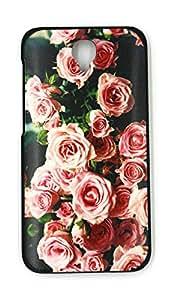 Genérico Cover Carcasa Funda para Alcatel One Touch Idol 2 OT6037 6037Y 6037B 6037K hülle Case Cover