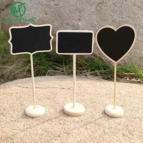 Wedding Favors - 5pcs Bag Chalkboard Backboard Favor Party T