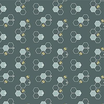 Birch Organics – Tela de popelín de algodón orgánico, por metros ...