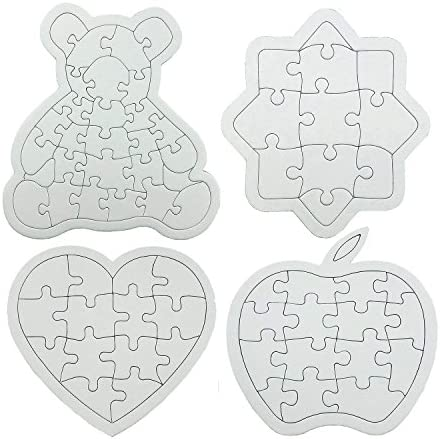 Darice Blank Puzzle 4 X 5.5 Inches