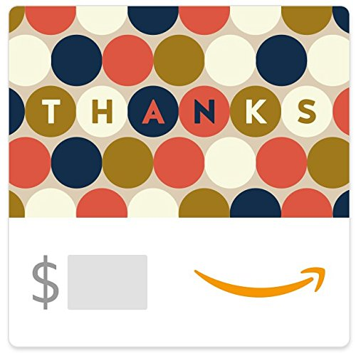 Amazon eGift Card - Thank You (Circles)