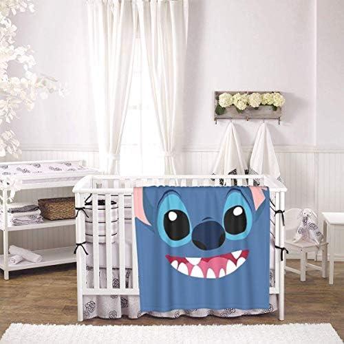 shihuainingxianruandans Couverture de bébé de Confort, Couverture Chaude Douce de Point Mignon pour Le Voyage de Poussette Nouveau-né Infantile en Plein air