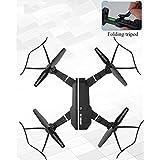 Drone with Wide Angle Camera, WIFI FPV Quadcopter MINI HD Camera Altitude Hold Mode Foldable APP Control Pocket Drone RTF