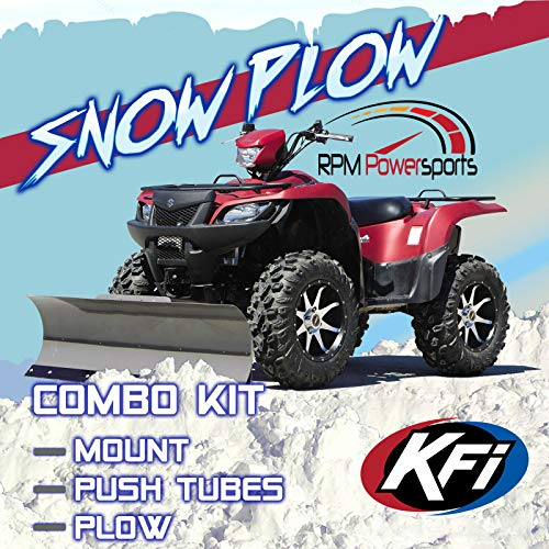 Top atv plow kit suzuki king quad for 2020