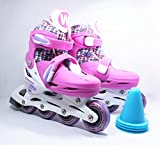 X free Xtreme Free Fun Roll Adjustable Inline Skates With Four Piles