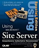 Using Microsoft Site Server, Wadman, Barry, 0789711575