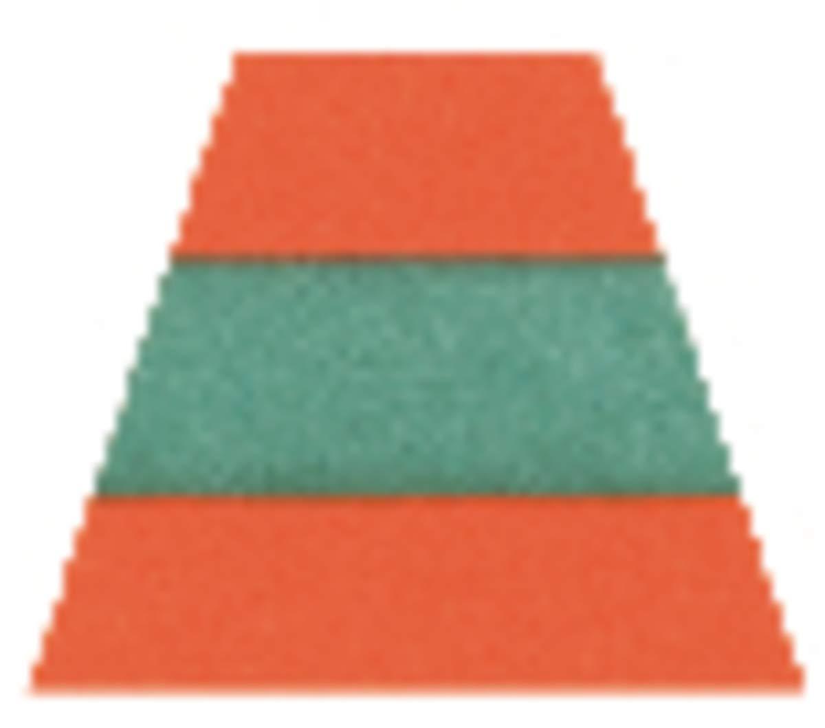 MSA Orange/Red Scotchlite 4 Point Ratchet Reflective Trim by MSA SAFETY SALES LLC (Image #1)