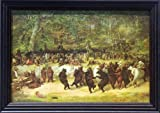 The Bear Dance William Holbrook 42x30 Gallery Quality Framed Art Print Picnic Bears