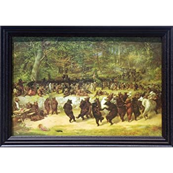 Amazon.com: The Bear Dance William Holbrook 42x30 Gallery ...