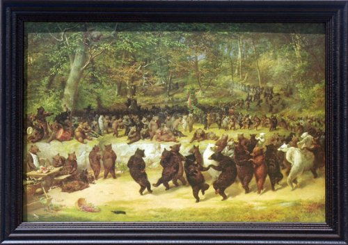 Amazon.com: The Bear Dance William Holbrook 42x30 Gallery Quality ...