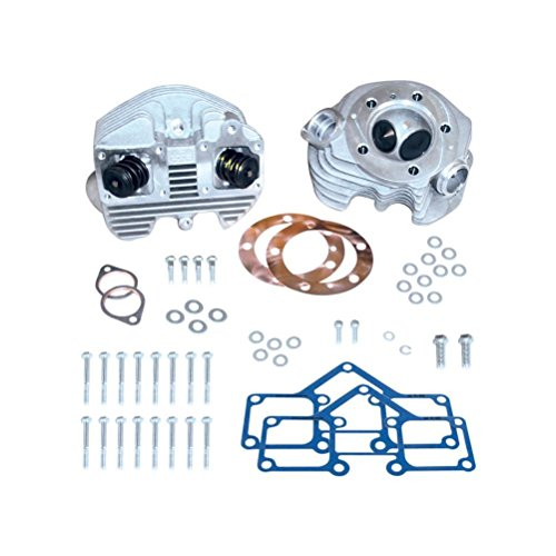 S&S Cycle High Output Super Stock Cylinder Head Kit (Super Stock Cylinder Heads)