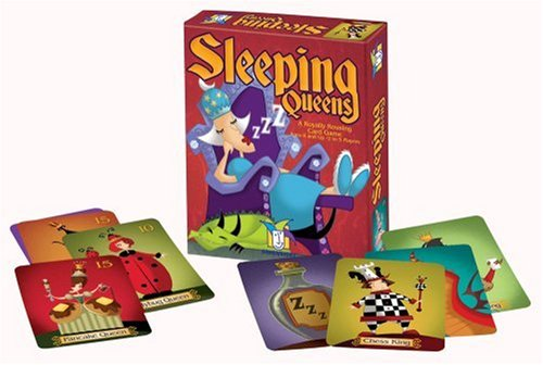 Sleeping Queens Card Game Cards