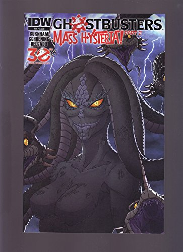 IDW COMICS GHOSTBUSTERS: MASS HYSTERIA PART 2 #14 1ST PRINT DIRECT EDITION