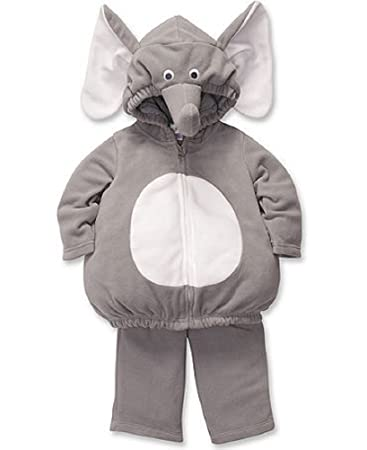 0d9270f29 Amazon.com: Carter's Baby Halloween Costume Elephant 2 Pieces Gray ...