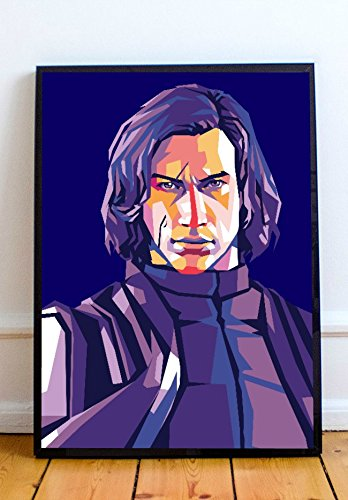 Kylo Ren Limited Poster Artwork - Professional Wall Art Merchandise (More (8x10)