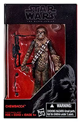 Star Wars, The Black Series 2015, Chewbacca Exclusive Action Figure, 3.75 Inches