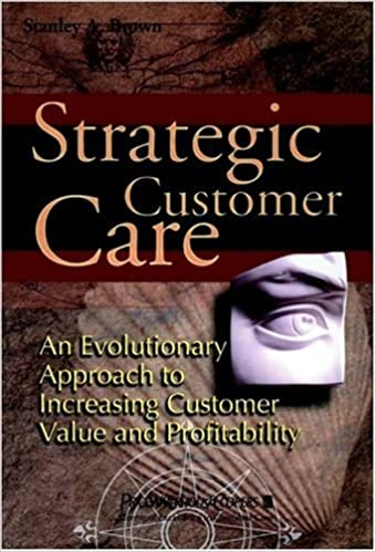 Strategic Customer Care: An Evolutionary Approach to Improving Customer Care and Profitability