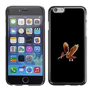 // PHONE CASE GIFT // Duro Estuche protector PC Cáscara Plástico Carcasa Funda Hard Protective Case for iPhone 6 / Fearow P0kemon /