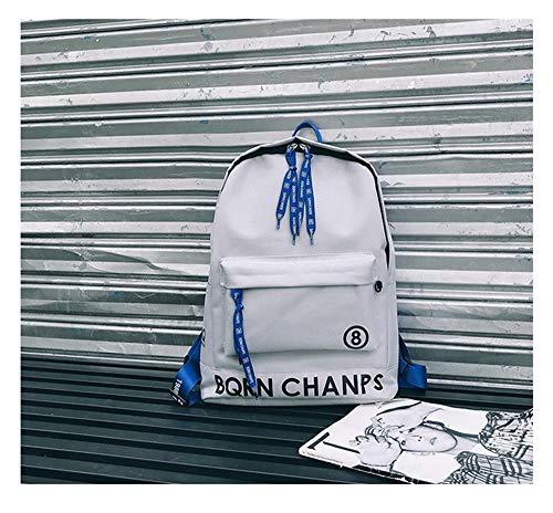 à Weiß Blanc Femme Main Dos HCXIN Sac pour porté au Weiß 5q44wU