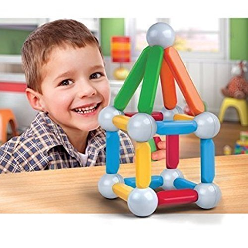 Colorful, Creative Discovery Kids 26-piece Magnetic Building Block Set (Discovery Kids Building Blocks compare prices)