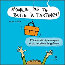 N'oublie pas ta boîte à tartines: 47 idées de pique-niques et 20 recettes de goûters (French Edition)