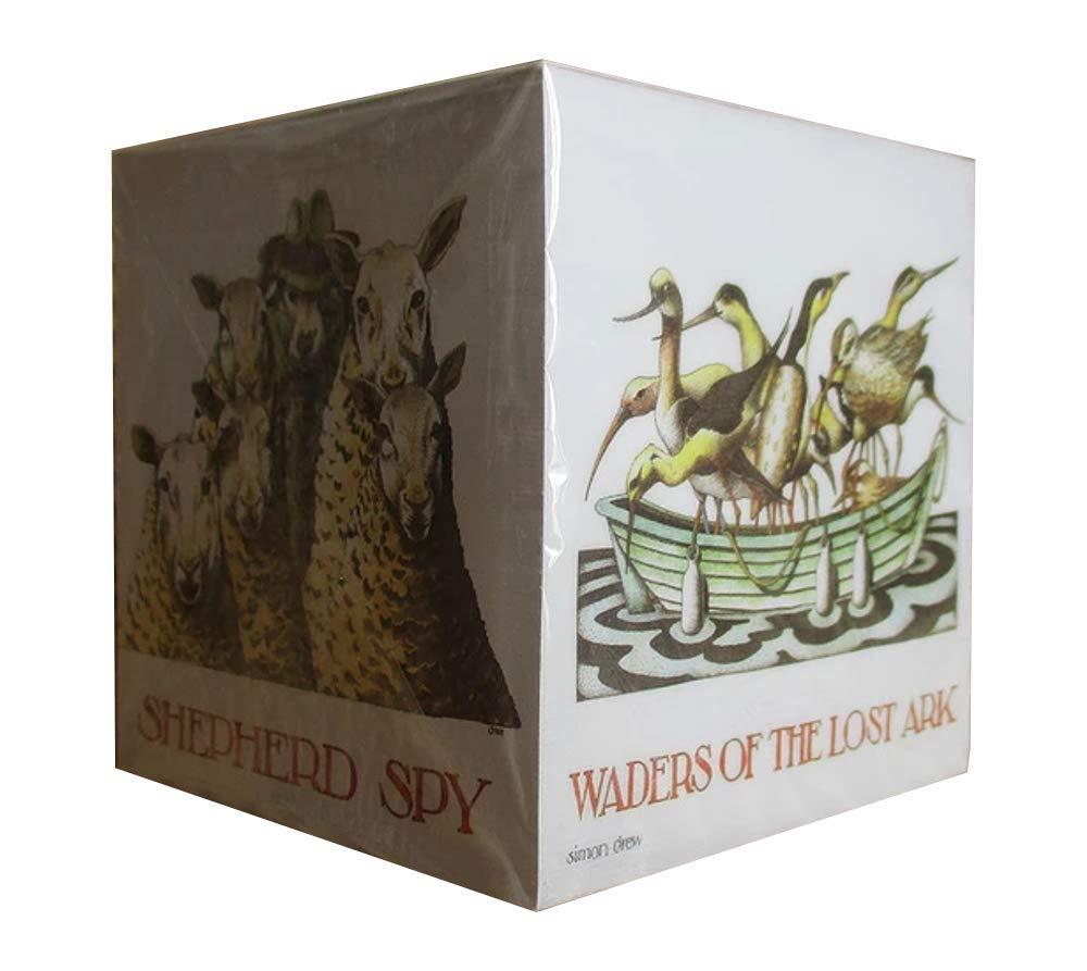 Simon Drew 800 Sheet Padblock Moled Wine//Waders of The Lost Ark//Shepherd Spy