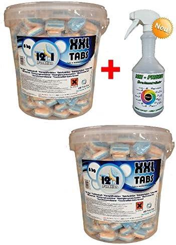NM 400 Pastillas para lavavajillas + 1 Fresh solubles en Agua ...