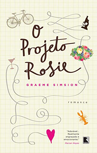 """Capa do livro """"O projeto Rosie"""""""