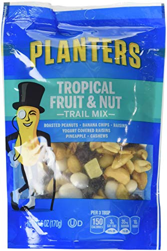 Amazon.com : Planters Trail Mix, Tropical Fruit & Nut, 6-Ounce Bags on diamond nuts, frito lay nuts, target nuts, kraft nuts, sam's club nuts,