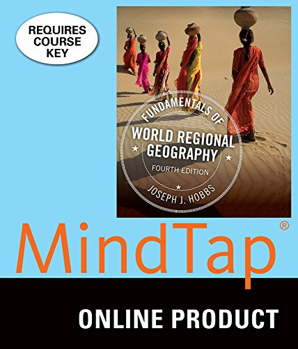MindTap Earth Science for Hobbs' Fundamentals of World Regional Geography, 4th Edition by Cengage Learning