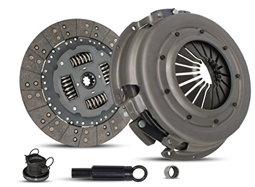 Clutch Kit Works With Dodge Ram 1500-3500 B150 B1500-B3500 Laramie Sport St Base Standard Extended Cab Pickup 1994-2002 3.9L V6 5.2L V8 5.9L V8 GAS OHV Naturally Aspirated (1997 Dodge Ram Pickup 3500 Extended Cab)