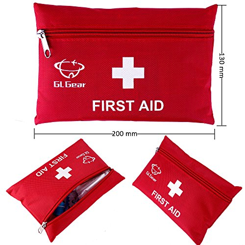GL-Gear-Portable-First-Aid-Kit-Medical-Survival-BagMini-Emergency-Bag-for-CarHomePicnicCamping-Travelling-and-Other-Outdoor-Activies41pcsSetComplete-home-medical-bagFree-Bonus-Offered