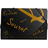JAM Paper Business Card Cases - 3 1/2'' x 2 1/4''x 1/4'' - Black with Gold Art Institute of Chicago Designs - 100 cases per pack