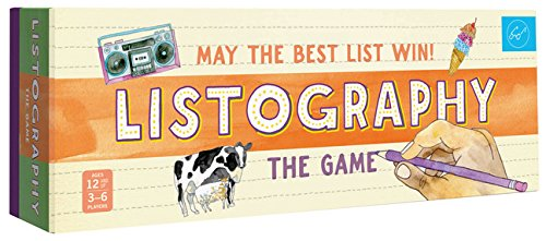 Download Listography: The Game: May the Best List Win! pdf
