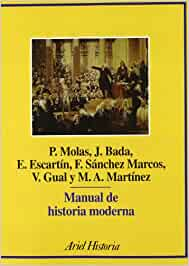 Manual de historia moderna (Ariel Historia): Amazon.es: Bada Elías ...